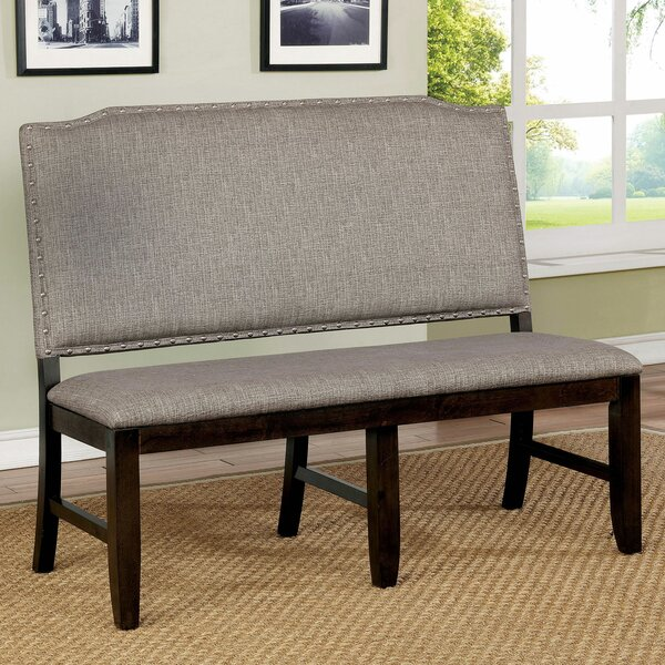 Len Upholstered Bench by Canora Grey Canora Grey