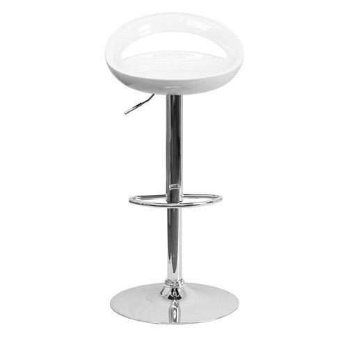 Steveda Adjustable Height Swivel Bar Stool (Set of 2) by Orren Ellis