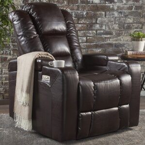 Deeann Solid Power Recliner by Red Barrel Studio