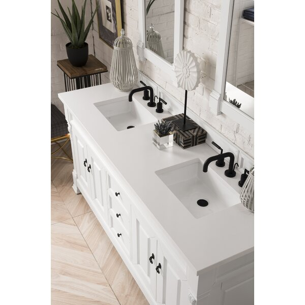 Vivanco 72 Double Bathroom Vanity Set