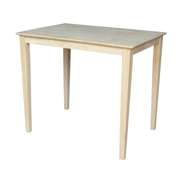 Glenside Solid Wood Dining Table by Alcott Hill Alcott Hill