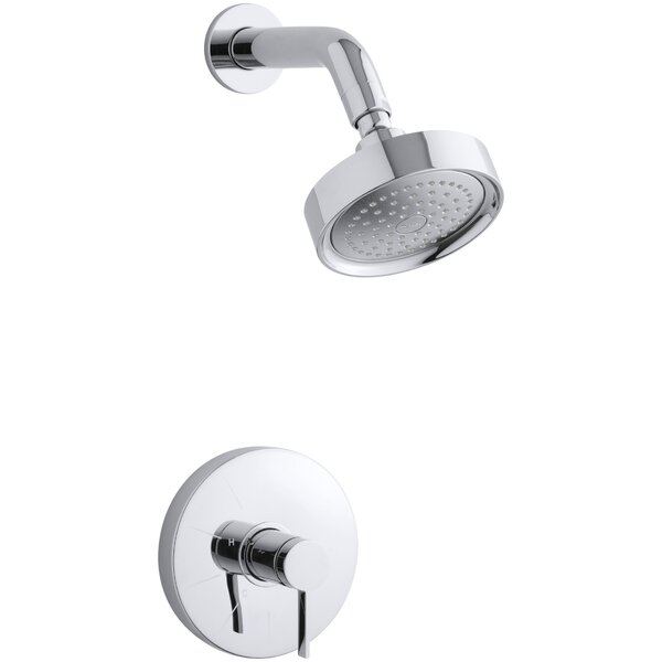 Stillness Rite-Temp Pressure-Balancing Shower Faucet Trim With Lever Handle Valve Not Included By Kohler