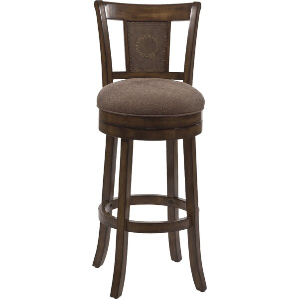 North Aurora 30 Swivel Bar Stool by Loon Peak