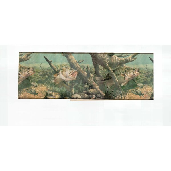 Fishing Satin Wallpaper Border by Houston International