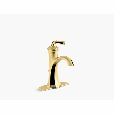 Single Faucet Drain Polished Brass photo