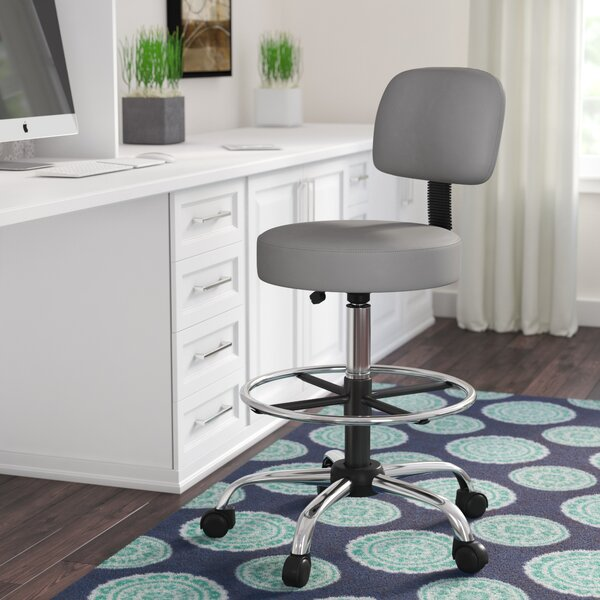Salter Adjustable Height Drafting Chair by Zipcode Design