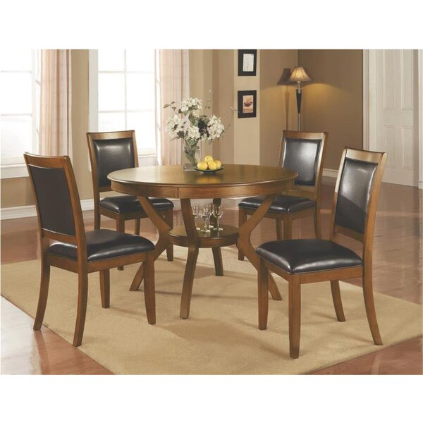 Bargain Leigh Woods 5 Piece Dining Set By Alcott Hill Savings