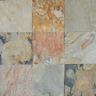 Autumn 12 X Slate Field Tile In Multi