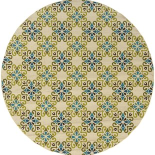 Chupp Yellow/Beige/Blue Indoor/Outdoor Area Rug By Winston Porter