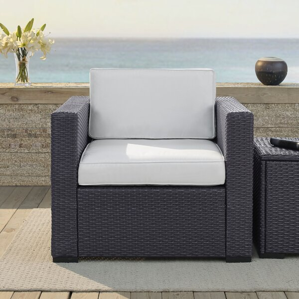 Dinah Arm Chair with Cushions by Highland Dunes