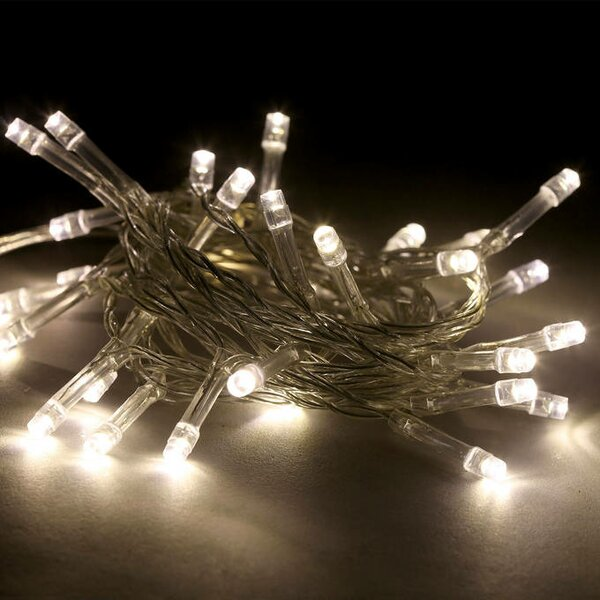 Battery Operated with Timer 30 LED String Lights by The Holiday Aisle