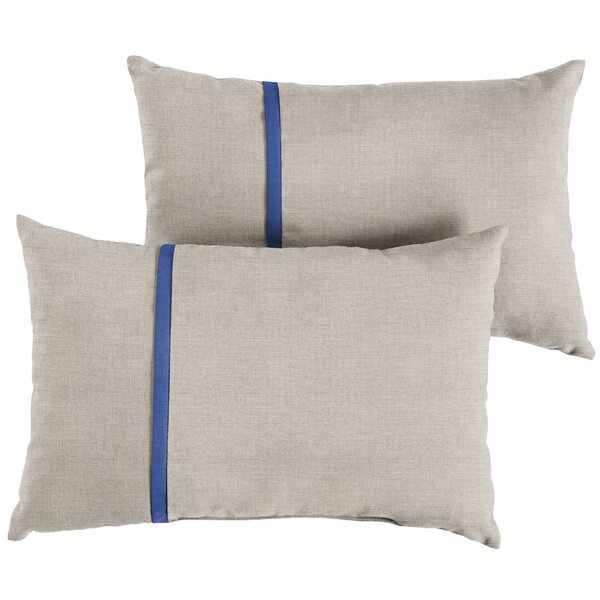 Couto Indoor/Outdoor Lumbar Pillow (Set of 2) by 17 Stories