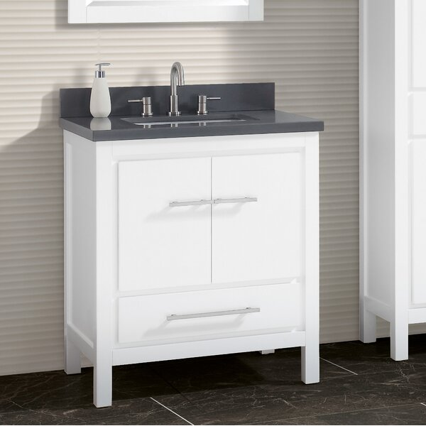 Liverman 37 Single Bathroom Vanity Set by Latitude Run