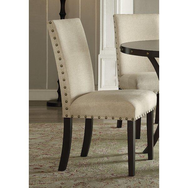 Bezu Fabric Parsons Chair (Set of 2) by Gracie Oaks