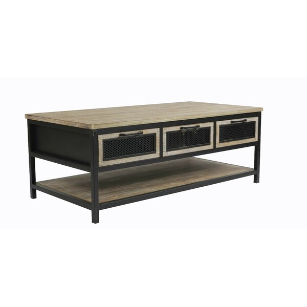 Rylee Coffee Table with Storage by Williston Forge