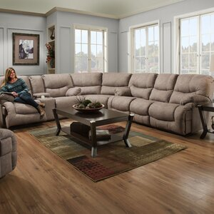 Simmons Reclining Sectional Winston Porter