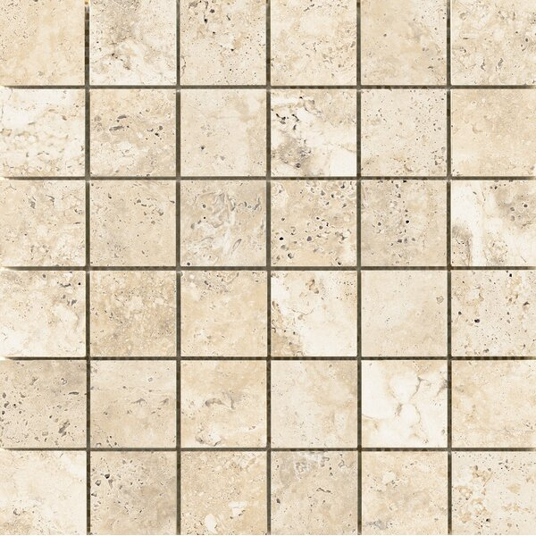 Cabo 2 x 2 Ceramic Mosaic Tile in Beach by Emser Tile