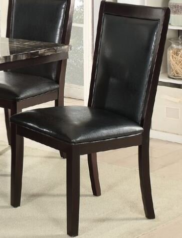 Harnden Upholstered Dining Chair (Set of 2) by Alcott Hill