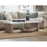 Miramar Lorrain Coffee Table with Tray Top by Hooker Furniture