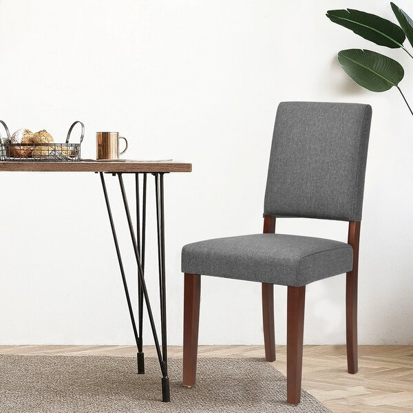 Malchow Upholstered Dining Chair (Set of 2) by Ebern Designs