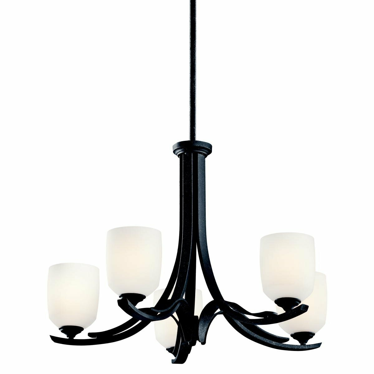 Alcott Hill Candleick 5 Light Shaded Classic Traditional Chandelier Wayfair