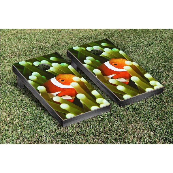 Clownfish Cornhole Game Set by Victory Tailgate