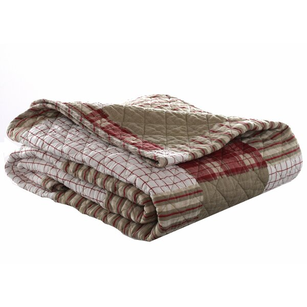 Camano Island Quilted Throw Blanket by Eddie Bauer