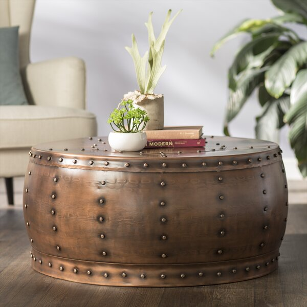 Best Price Espinoza Drum Coffee Table by Bloomsbury Market