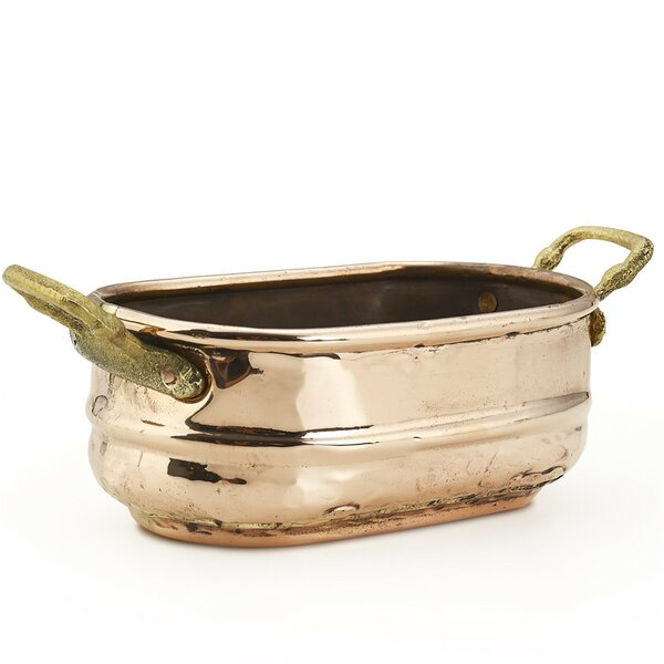 Copper Pot Planter by Kuprum