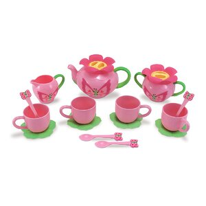 Bella 15 Piece Butterfly Tea Set