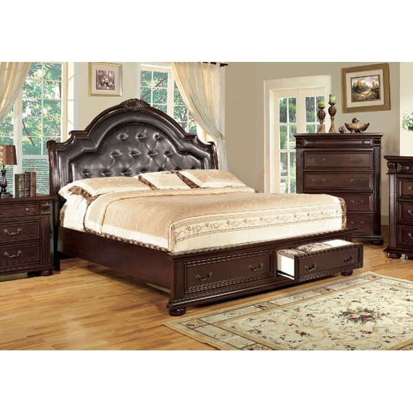 Ellis Upholstered Storage Platform Bed by A&J Homes Studio