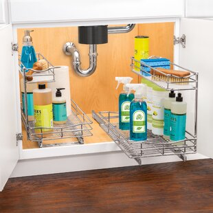 Lynk Professional® 11.5 x 21 Slide Out Under Sink Pull Out Drawer
