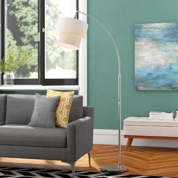 Duneany 71 Arched Floor Lamp by Langley Street