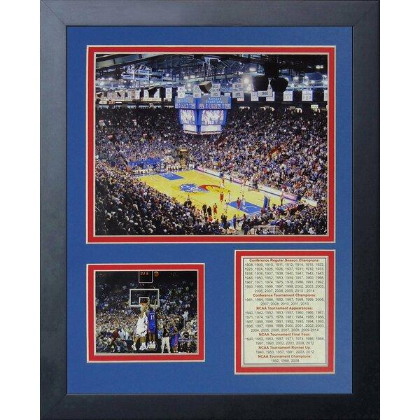Allen Fieldhouse - Kansas Jayhawks Framed Memorabilia by Legends Never Die