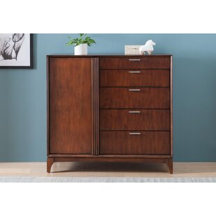 Caitlin Door 5 Drawer Chest By Ivy Bronx