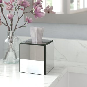 Avenall Crystal Mirror Tissue Box Cover