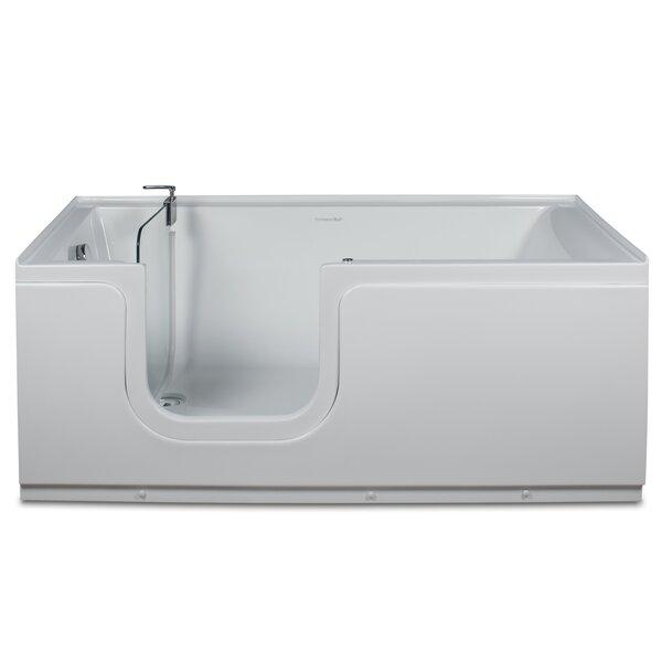 Aquarite 59 x 30 Step-In Air Bathtub by Homeward Bath
