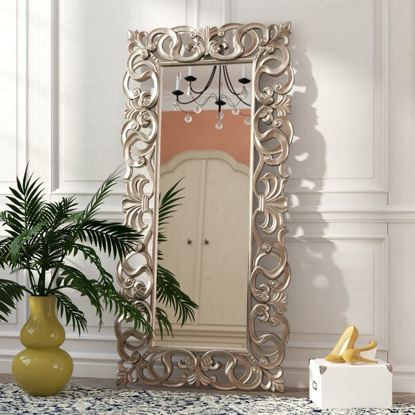 Traditional Rectangle Accent Mirror by Rosdorf Park
