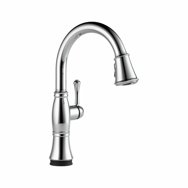 Cassidy Pull Down Touch Single Handle Kitchen Faucet with and MagnaTite® Docking, Touch2O® Technology, and Diamond Seal Technology by Delta