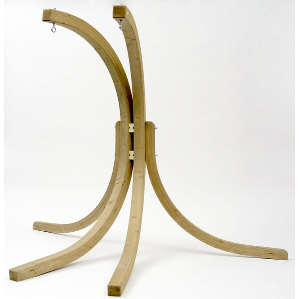 Sumner Wood Double Hammock Chair Stand by Freeport Park Freeport Park