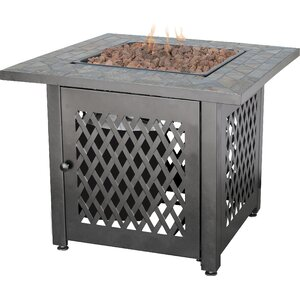 Uniflame Steel Fire Pit Table