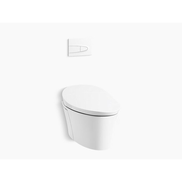 Veil® Wall Hung Intelligent Toilet & Face Plate by Kohler