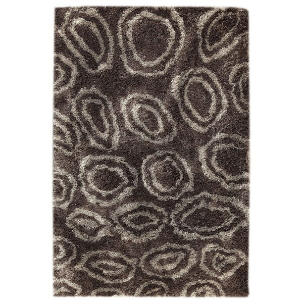 Island Hand-Tufted Gray/Brown Area Rug by M.A. Trading
