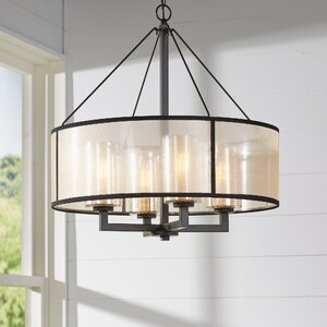 Dailey 4-Light Drum Chandelier