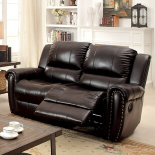 Vargas Transitonal Reclining Loveseat Darby Home Co
