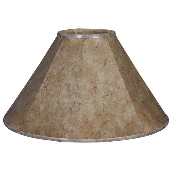Timeless Coolie 14 Faux Leather Empire Lamp Shade by Royal Designs