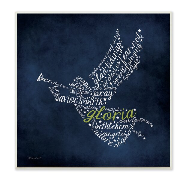 Gloria Angel Textual Art by Stupell Industries