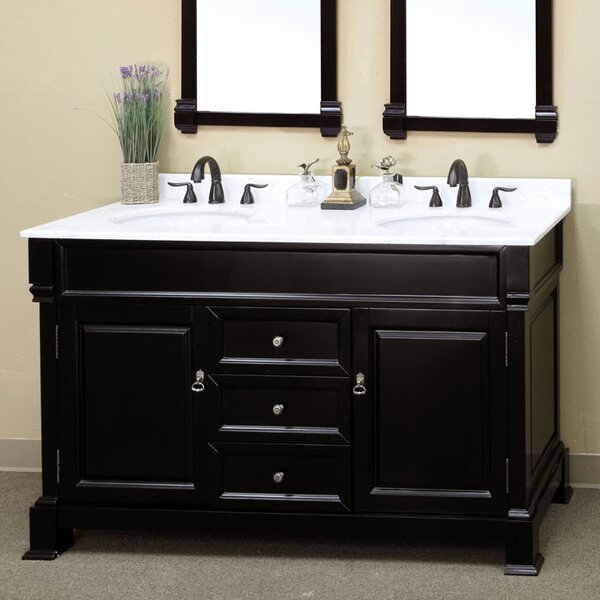 Halliday 60 Double Bathroom Vanity Set