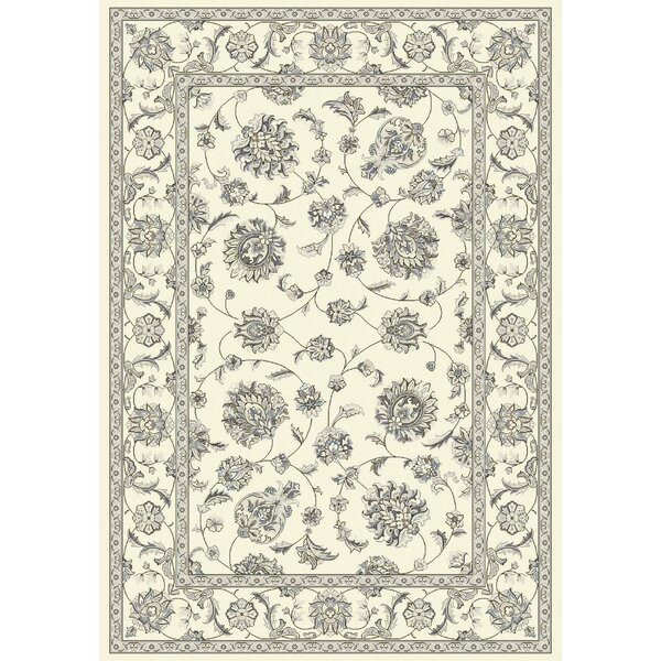 Attell Oriental Cream Area Rug by Astoria Grand