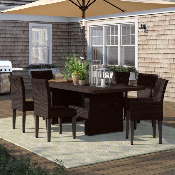 Tegan 7 Piece Outdoor Patio Dining Set by Sol 72 Outdoor